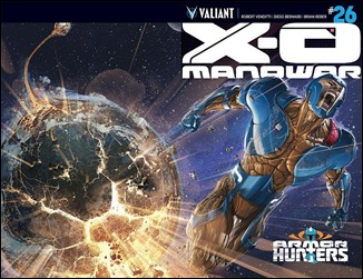 X-O Manowar #26 Chromium Cover