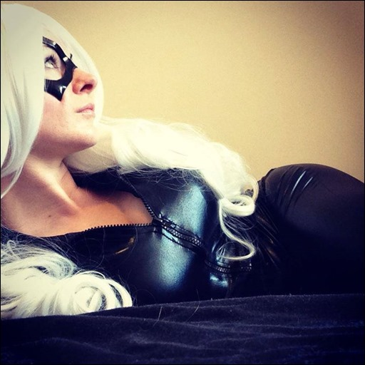 Manda Cowled as Black Cat