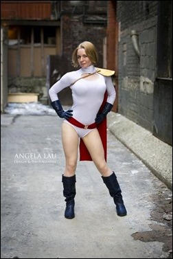 Manda Cowled as Power Girl