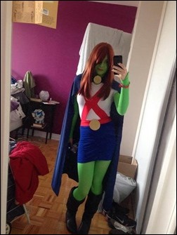 Manda Cowled as Martian Manhunter