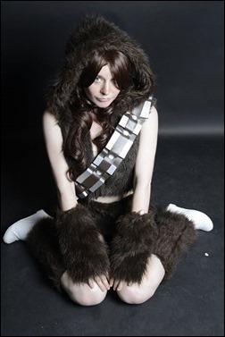 Manda Cowled as Chewbacca