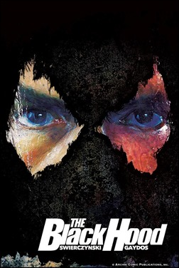 The Black Hood #1 Cover - Die Cut