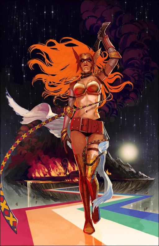 Angela: Asgard's Assassin #1 Cover - Hans Variant