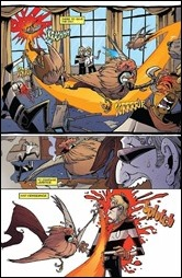 Chew: Warrior Chicken Poyo #1 Preview 2