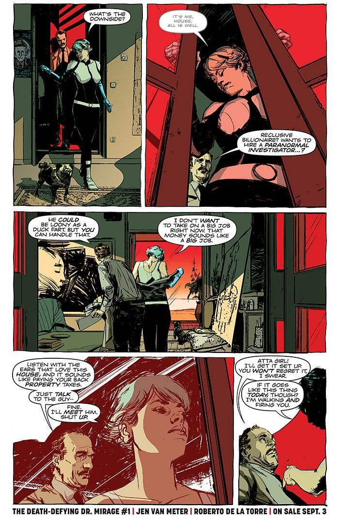 Death Defying Doctor Mirage Vol 2 Second LIves – The ...