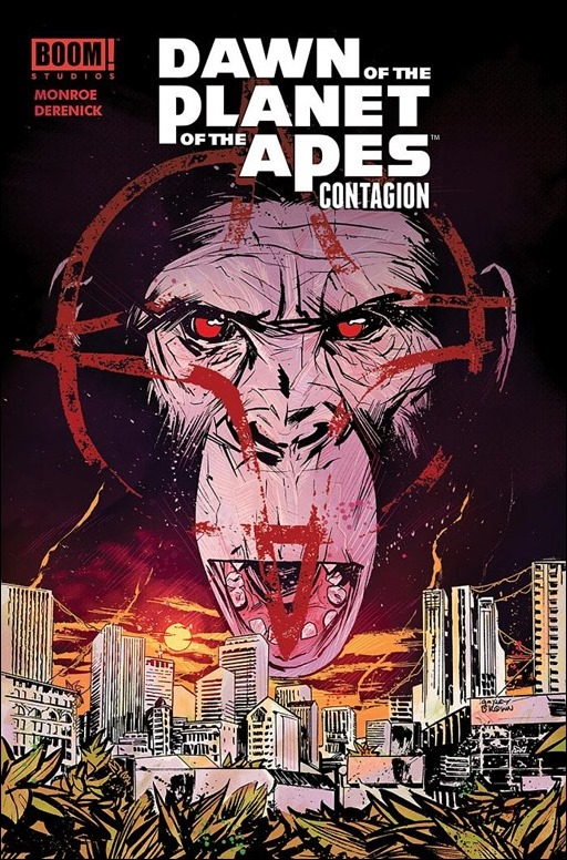 Dawn of the Planet of the Apes Contagion - SDCC