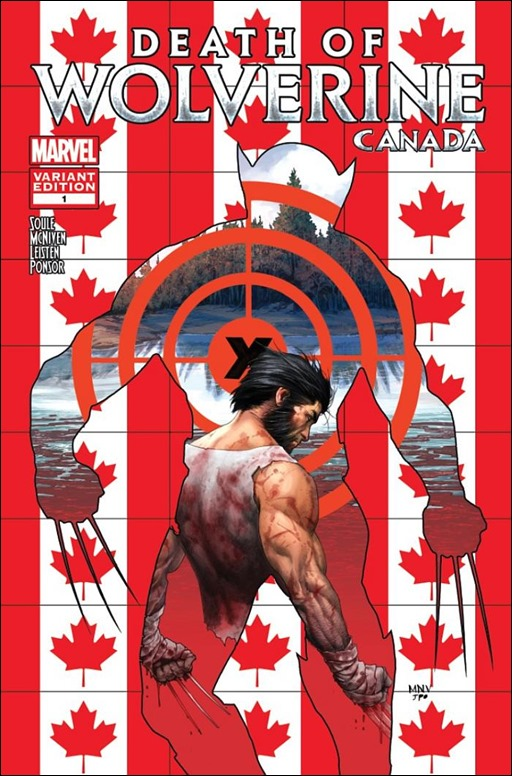 Death of Wolverine #1 Canada Variant