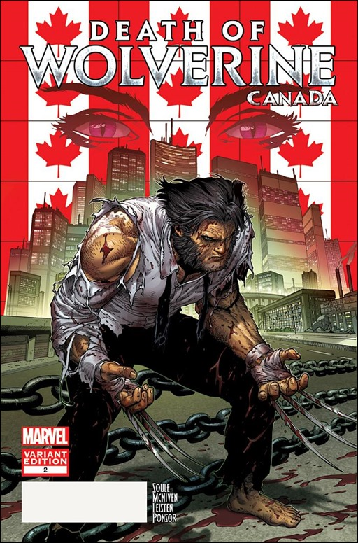 Death of Wolverine #2 Canada Variant