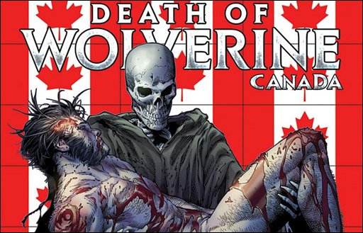 Death of Wolverine #4 Canada Variant