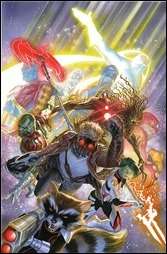 Guardians of the Galaxy #18 Cover - Alex Ross Variant