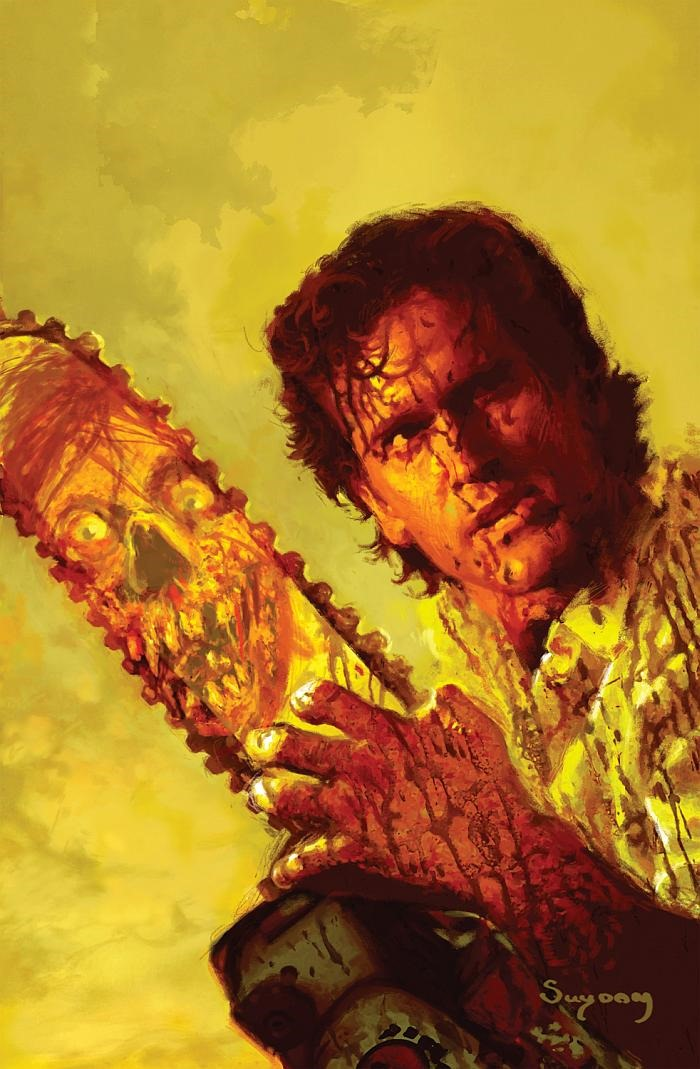 the art of army of darkness coming in october from dynamite