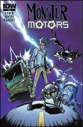 Monster Motors One-Shot Cover