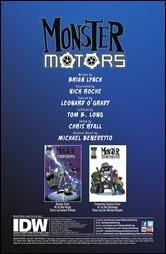 Monster Motors One-Shot Preview 1