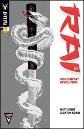 Rai #3 Cover