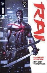 Rai #3 Cover - Crain