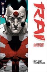 Rai #3 Cover Variant - CAFU