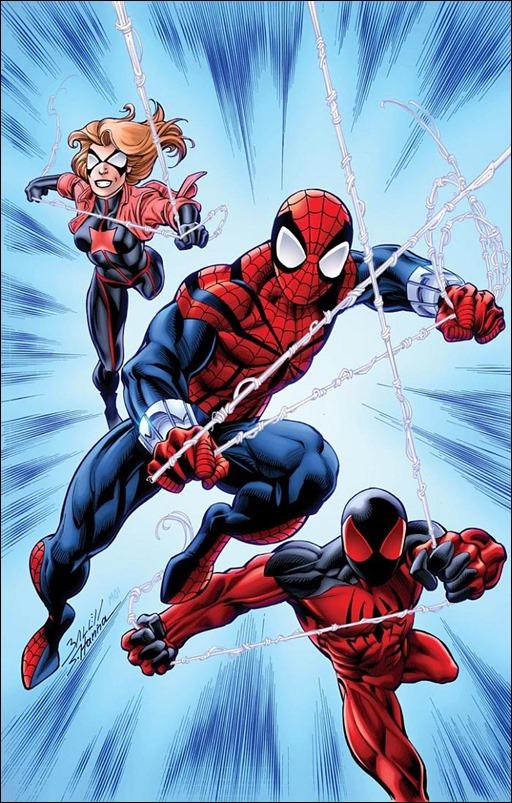 Scarlet Spiders #1 Cover - Bagley Variant