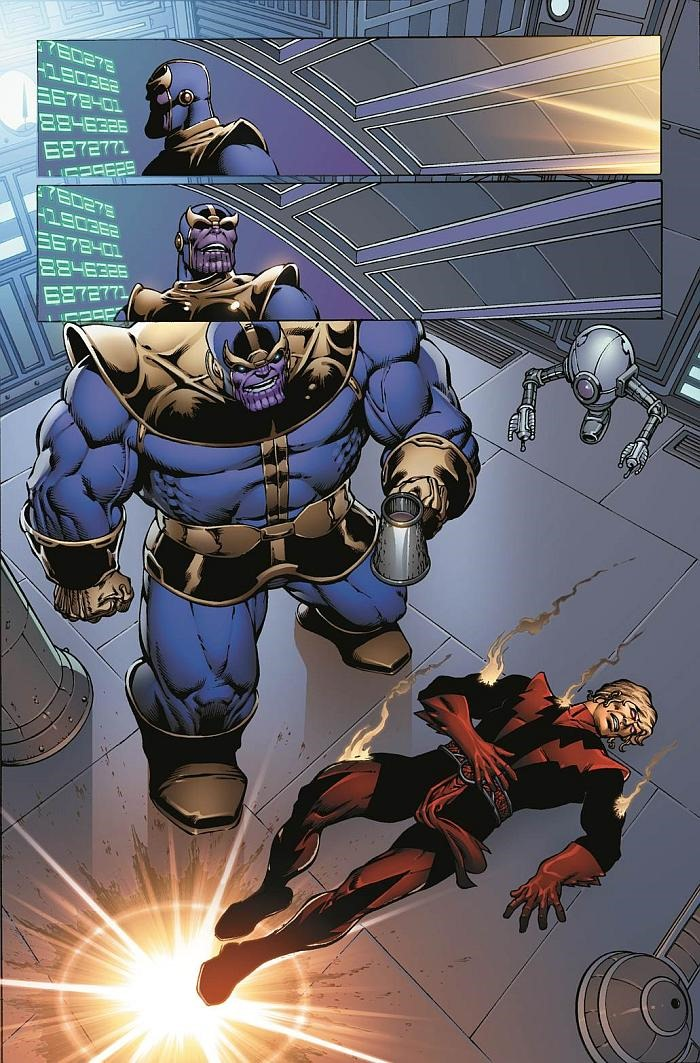 The Infinity Wart Saga Part 1 Issue: Preview Of Thanos: The Infinity Revelation OGN By Jim Starlin