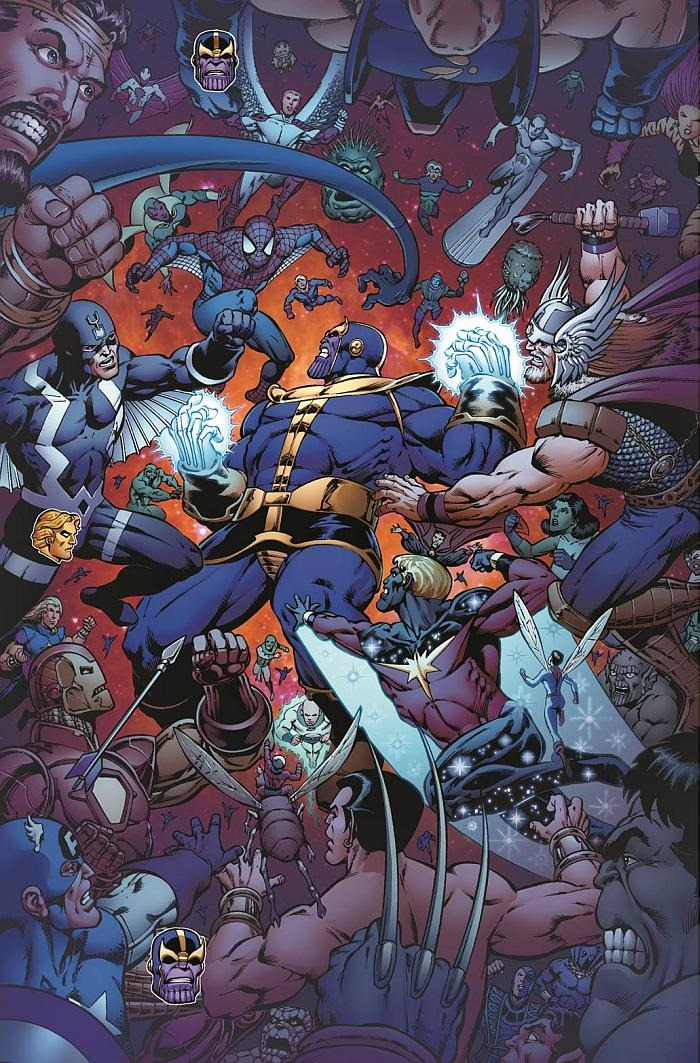 Preview Of Thanos The Infinity Revelation Ogn By Jim Starlin