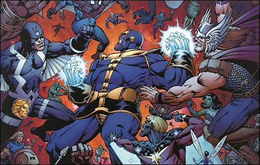 Thanos: The Infinity Revelation OGN
