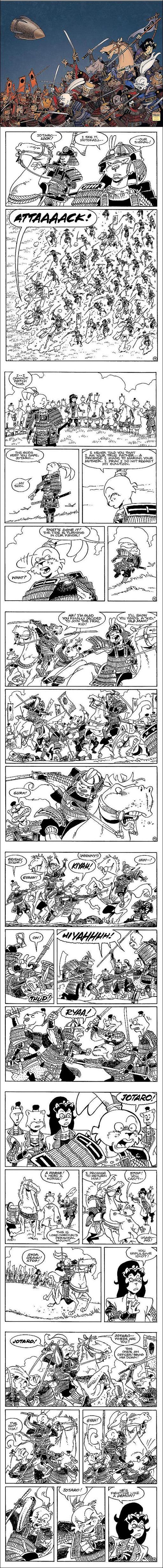 Usagi Yojimbo: Senso #1