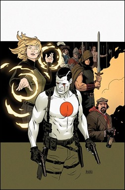THE VALIANT #1 – Cover by Paolo Rivera