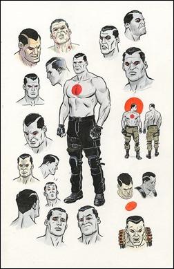BLOODSHOT – Character Study by Paolo Rivera