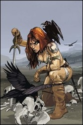 The Women of Dynamite - Red Sonja