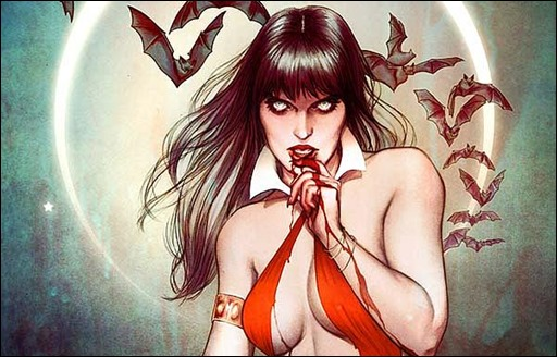 The Women of Dynamite - Vampirella