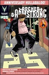 Archer & Armstrong #25 Cover A - Henry