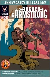 Archer & Armstrong #25 Cover B - Crystal