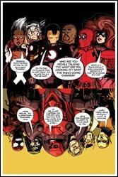Avengers & X-Men: Axis #1 Cover - Deadpool Variant