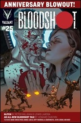 Bloodshot #25 Cover - LaRosa