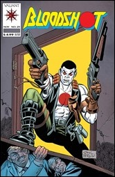 Bloodshot #25 Cover - Don Perlin Throwback Variant