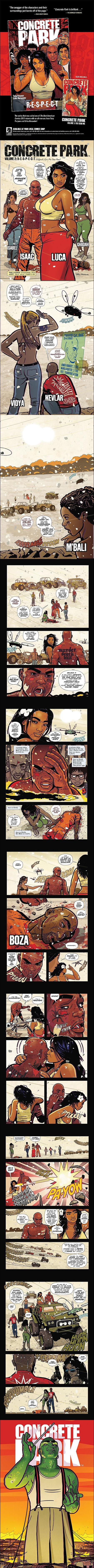 Concrete Park #1 Preview
