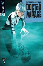 The Death-Defying Dr. Mirage #2 Cover