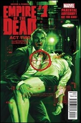 George Romero's Empire of the Dead: Act Two #1 Cover