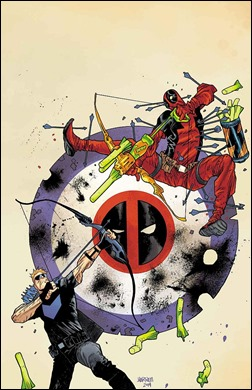 Hawkeye vs. Deadpool #0 Cover