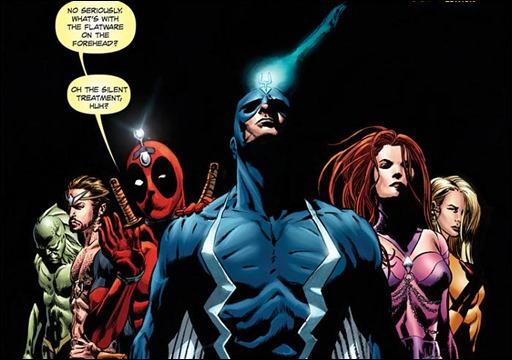 Inhuman #7 Perkins Deadpool 75th Variant