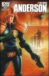 Judge Dredd: Anderson, Psi-Division #1 Cover