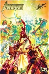 Marvel Famous Firsts Avengers Poster