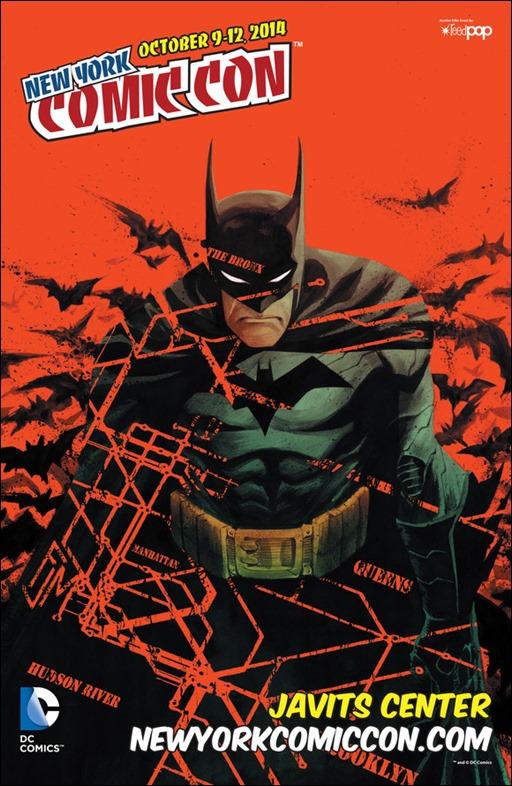 Official NYCC 2014 Poster - Batman by Francis Manapul