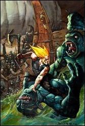 Thor: God of Thunder #25 Cover - Bisley Variant