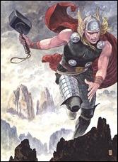 Thor: God of Thunder #25 Cover - Manara Variant