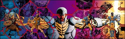 X-O Manowar #0 Cover - Dave Johnson Interlocking Variants