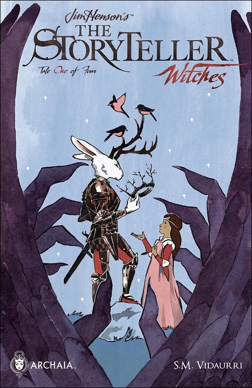 JIM HENSON'S THE STORYTELLER: WITCHES #1 Cover A by S.M. Vidaurri