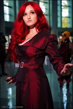 Alexandria the Red as Phoenix (Photo by Manny Llanura Photography)