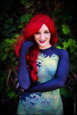 Alexandria the Red as New 52 Poison Ivy (Photo by Erik Estrada)