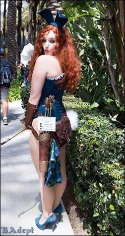 Alexandria the Red as Merida Bunny (Photo by Blue Adept Photography)