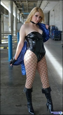 Holly Brooke as Black Canary (Photo by Eurobeat Kasumi Photography)